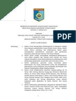Perda RTRW Lombok Barat 2011-2031