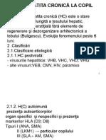 Hepatita Cronica Martie 2013
