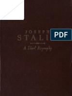 Stalin a Short Biography 1947