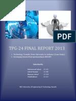 TPG-24 Final Report