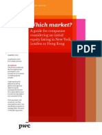 Pwc Which Market Ipo Brochure 08 2012