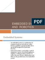 Embedded Systems and Robotics