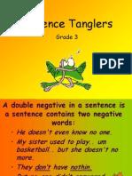 Sentence Tanglers