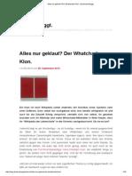 blog.buckmanngewinnt.ch 28 September 2014