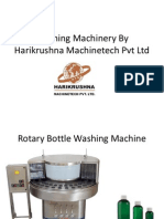 Bottle Washing Machinery