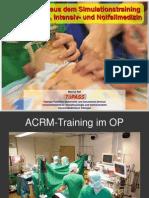 Training in Der Anaesthesie Rall