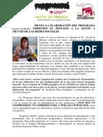 IU-Alcalá Comienza La Elaboración Del Programa Electoral, Abriendo El Proceso a La Gente a Través de Las Redes Sociales Con El Hashtag #ProgramaAbierto