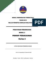 Trial Kedah 2014 SPM Prinsip Perakaunan K1 K2 Skema