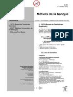 Metiers de La Banque Bourgogne 1erTrim 2014