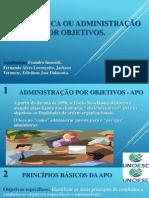 Neoclássica ou Administração por Objetivos.pptx