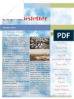 UoB Newsletter, Summer 2013