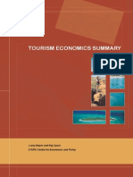 Tourism Economics Summary WEB