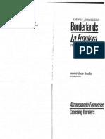 Borderlands La Frontera Anzaldua