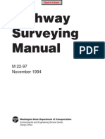 Engineering - Highway Surveying Manual (M 22-97) 1996