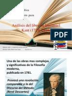 La Crítica de La (Kant)