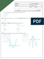 Atividades Sobre Func3a7c3a3o Quadrc3a1tica