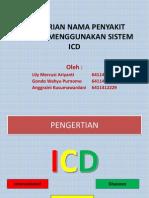 Pemberian Nama Penyakit Dengan Menggunakan Sistem Icd