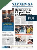 GradoCeroPress-Lunes 29 Sept-2014 Portadas Medios Nacionales