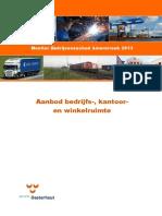 Oosterhout Bedrijvenaanbod Amerstreek 2013