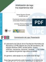 Centralizacion Logs UPC