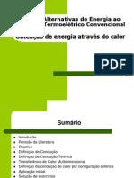 CALOR - Alternativas de Energia Ao Processo Termoelétrico Convencional