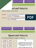 velocity and acceleration teacher1