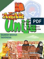 Tugas Kel 3 B.indo . Fungsi Bahasa Indonesia Sebagai Alat Penyatuan Suku Bangsa