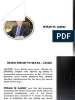 William M. Leahey - General Interest Periodicals