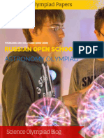 Russian Open School Astronomical Olympiad by Correspondence