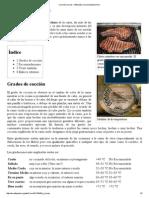 Cocción (Carne) - Wikipedia, La Enciclopedia Libre