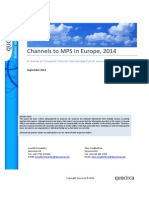 Channels to MPS in Europe, 2014