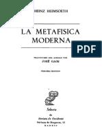 - La Metafisica Moderna