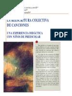 Alvarado Cano Garbus-la Reescritura Colectiva de Canciones