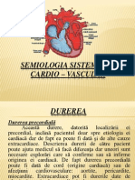 Chirurgie Cardiovasculara Curs v Semiologie