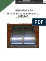 En ENSOL - Inroof Installation Instruction Tile