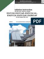 En ENSOL - Installation Instruction Inclined Tile Roof