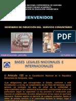 Presentacion Induccion Servicio Comunitario 2011-i