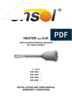 En Installation Manual Heater Type EJK