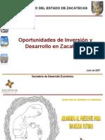Oportunidades de Inversión zacatecas