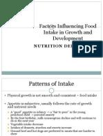 K - 29 Factor Influencing Food Intake (Gizi)