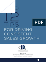 Top 12 Tips for Driving Consistent Sales Growth