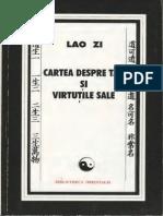 Lao Zi - Cartea despre Tao si virtutile sale.pdf