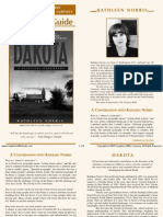 Dakota by Kathleen Norris - Discussion Questions