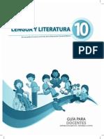 Guia de Docente Literatura 10mo