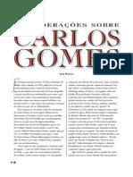 Considerações Sobre Carlos Gomes