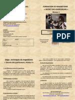 Formation Magnétisme 1 Gy Les Nonains Décembre 2014