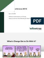 CGAIT Presentation WillowTree Advisors 092314 Copyright