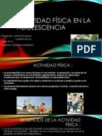 Actividad Física en La Adolescencia