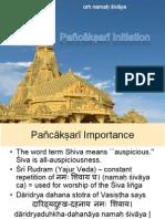 Pañcākṣarī Initiation