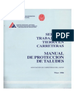 Manual de Proteccion de Taludes